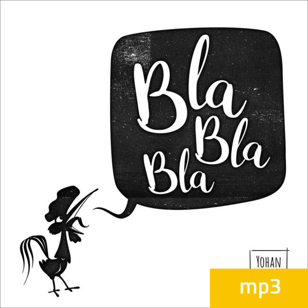 CD Blablabla MP3 Cover Contours