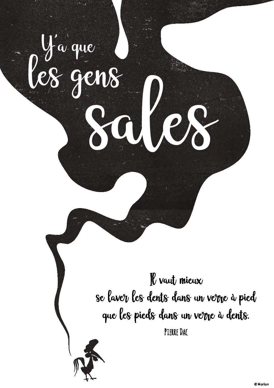 Y'a que les gens sales – Partition – Yohan Salvat copie